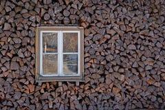 Caso di legno Fotografia Stock