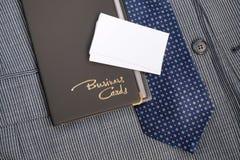 Caso e cartões Fotos de Stock Royalty Free