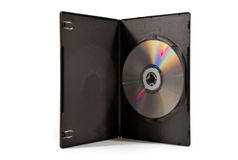 Caso em branco de DVD/CD. Fotografia de Stock