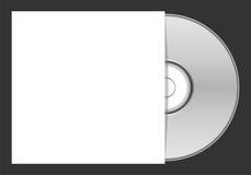 Caso en blanco del DVD - ejemplo Foto de archivo libre de regalías