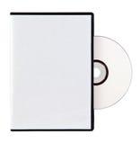 Caso en blanco y DVD ilustración del vector