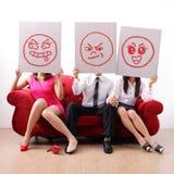Caso extraconjugal e infidelidade marital Fotos de Stock Royalty Free