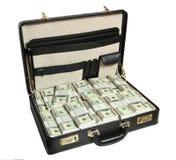Caso in pieno del dollaro Fotografie Stock