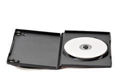 Caso y disco de Dvd imagen de archivo libre de regalías