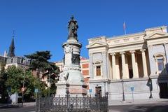 Cason del Buen Retiro byggnad av det Prado museet Museo Del Prado, nationell konstmusem i Madrid, Spanien Royaltyfri Bild
