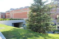 Cason del Buen Retiro byggnad av det Prado museet Museo Del Prado, nationell konstmusem i Madrid, Spanien Arkivfoto