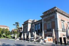 Cason del Buen Retiro byggnad av det Prado museet Museo Del Prado, nationell konstmusem i Madrid, Spanien Royaltyfria Bilder