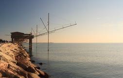 Casoni, Sottomarina Chioggia Stockbild