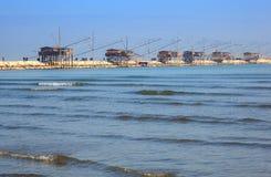 Casoni, Sottomarina. Chioggia Royalty Free Stock Photos