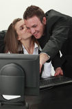 Casos de escritório Fotos de Stock