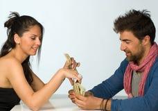 Casos financeiros foto de stock royalty free