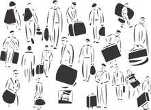 Casos que llevan de la gente libre illustration