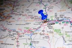 CASPER, Вайоминг стоковые изображения rf