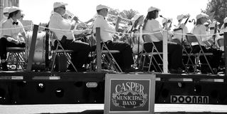 Casper Municipal Band. royalty free stock photography