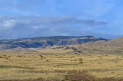 Casper Wy Landscape 1. This is a photo of a landscape in Casper, Wyoming Stock Images