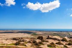 Caspian coast Royalty Free Stock Photo