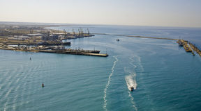 Caspian sea panorama Royalty Free Stock Images