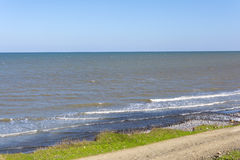 Caspian sea, shore, surf Stock Photo