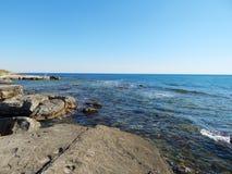 Caspian Sea. Royalty Free Stock Photography