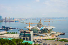 Caspian Waterfront mall under construction, Baku Stock Photos