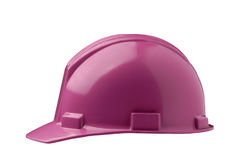 Casque antichoc rose Image stock