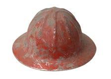 Casque antichoc rouge Photographie stock libre de droits