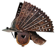 Casque antique de guerrier Images stock