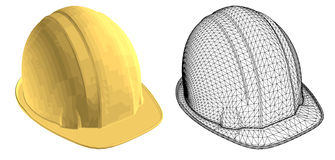 Casque d'or illustration stock
