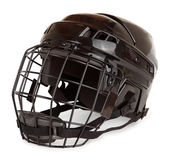 Casque d'hockey Photo libre de droits