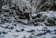 Casque dans les avants d'hiver Photos stock