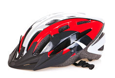 Casque de bicyclette Images stock
