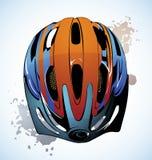 Casque de bicyclette Photo libre de droits