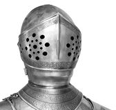 Casque de chevalier, chemin de découpage Images stock