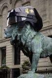 Casque de Chicago Blackhawks - tasse 2013 de Stanely Images stock