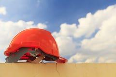 Casque de construction photo libre de droits