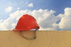 Casque de construction photo stock