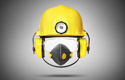 Casque de construction Images libres de droits