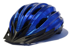 Casque de cycle Photos libres de droits