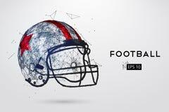 Dessin au trait casque de football am ricain illustration de vecteur illustration du c t - Dessin football americain ...