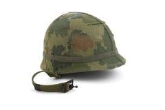 Casque de l'armée américain - Ère du Vietnam Photo libre de droits