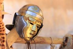 Casque de masque photographie stock libre de droits