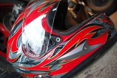 Casque de moto Image stock