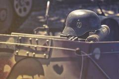 Casque de nazi de solides solubles images libres de droits