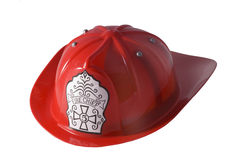Casque de sapeur-pompier Photographie stock