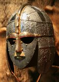 Casque de saxon de Sutton Hoo Photo stock