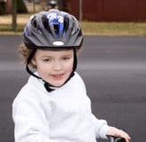 Casque de vélo Photos libres de droits