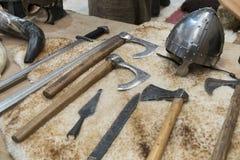 Casque de Viking Photographie stock libre de droits