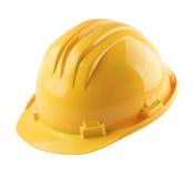 Casque jaune Images stock