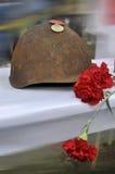 Casque, le 9 mai Victory Day Image libre de droits