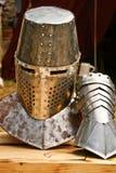 Casque médiéval Images stock